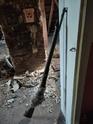 Fusil trouvé dans un faux plafond Fusil210