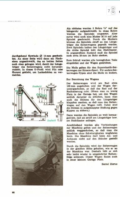 Carénage en polyester pour ES (magazine practic 2/74) Screen11