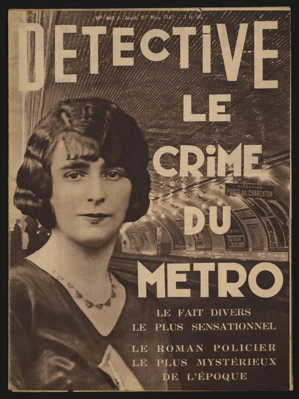 Laëtitia Toureaux - Le Crime du Métro, 16 mai 1937 _012