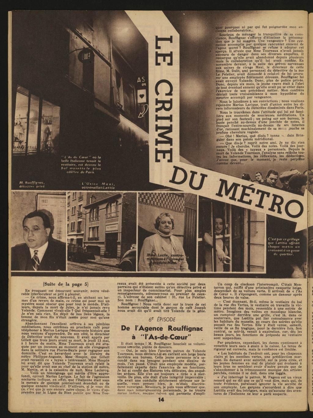 Laëtitia Toureaux - Le Crime du Métro, 16 mai 1937 _1311