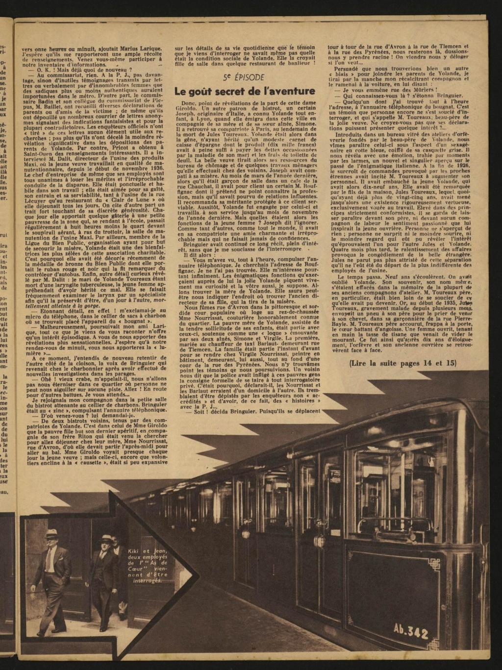 Laëtitia Toureaux - Le Crime du Métro, 16 mai 1937 _411