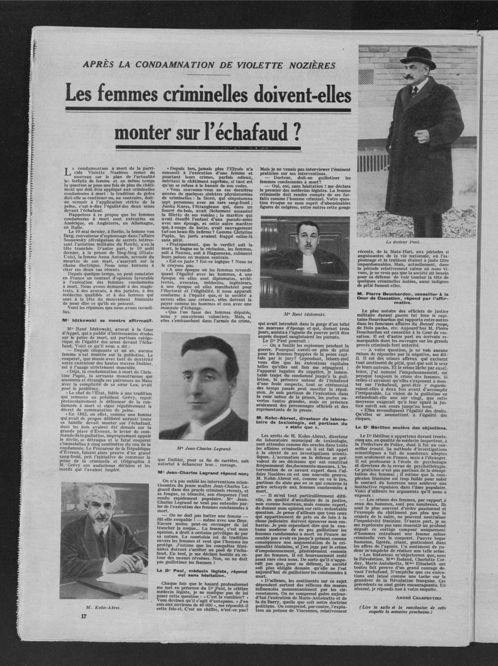 Ces femmes qu'on guillotina - Page 5 Police10