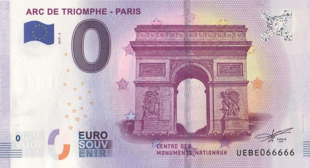 Billets 0 € Souvenirs  [Paris = 81] 001_410
