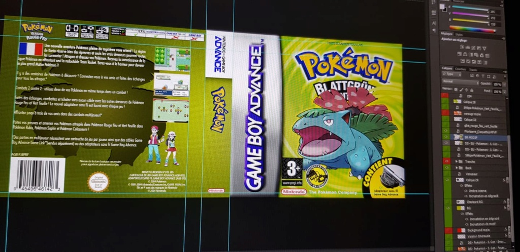 Jaquettes pour boitiers DS (jeux GB, GBC, GBA, GG...) - Page 6 Vert10