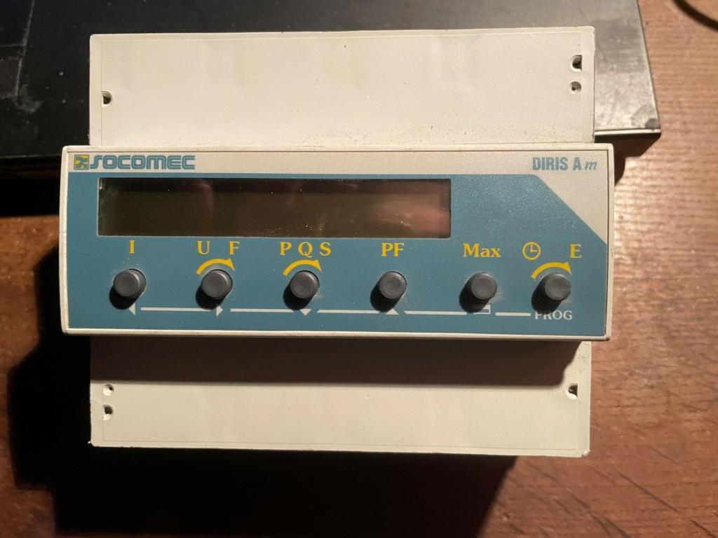 Cherche conseils sur wattmètre Diris10