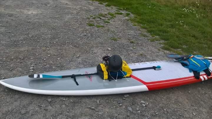Pagaie hybride Paddle/kayak en carbone  Fb_img12