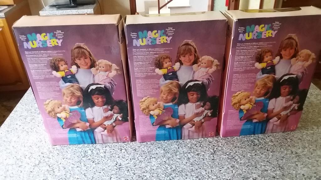 3 bambole mattel magic nursery nuove mai aperte 20180820