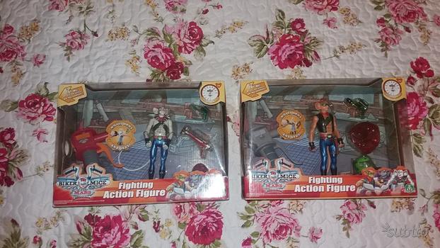 lotto giocattoli fondo magazzino+ aggiunto biker mice from mars compreso nel prezzo Ca107310