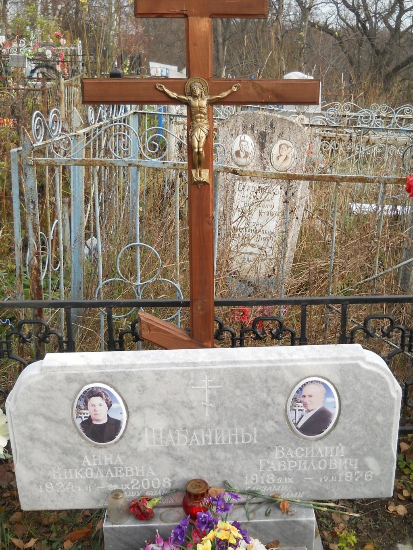 Шабанин Василий Гаврилович A118410