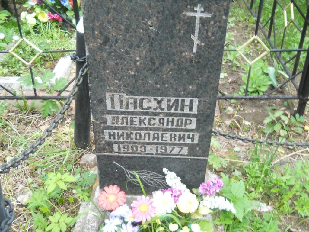 Пасхин Александр Николаевич В A18110