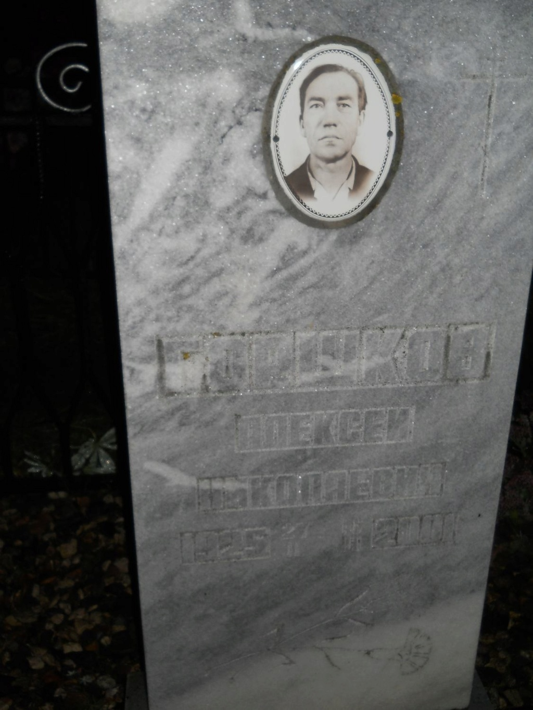 Горшков Алексей Николаевич З Ou126310