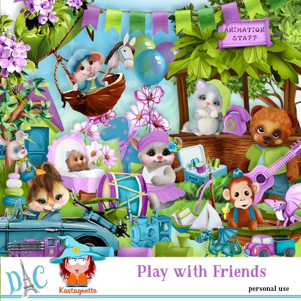 Play with friends - 8 avril Kasta154