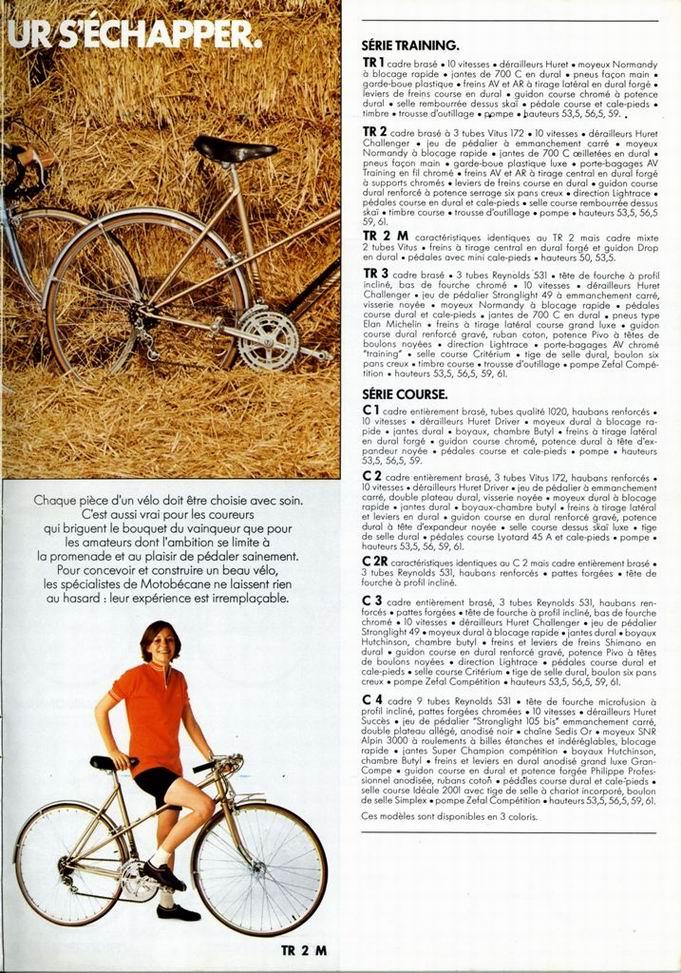 Motobecane TR2  Catalo10