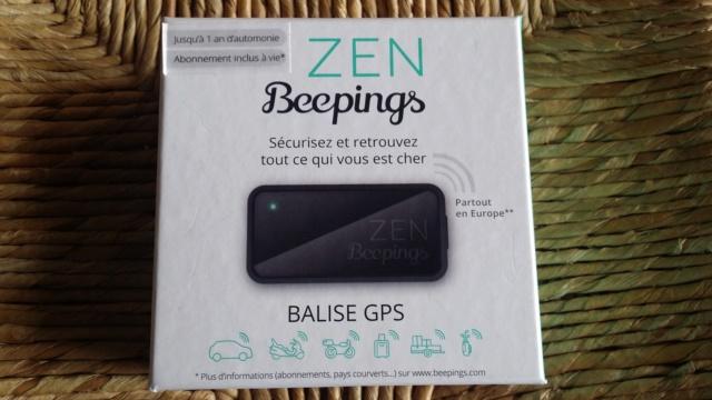 Beepings ZEN Balise GPS et détecteur de mouvement pour voitures/motos/scooters.. 2019-043