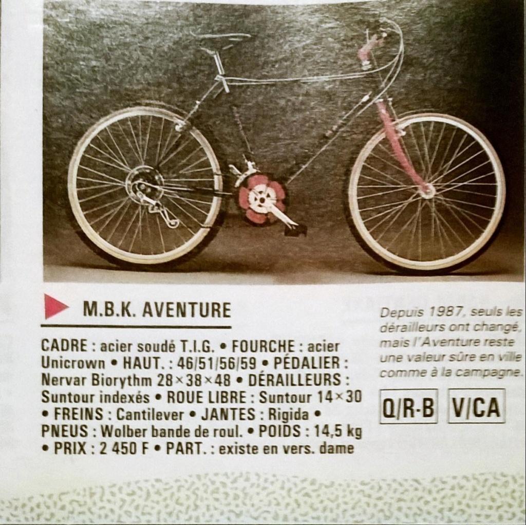 MBK Aventure 1988 noir et rouge 18 vit  Office34
