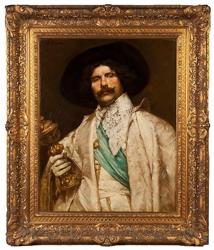 Portrait d'un gentilhomme au calice d'après Ferdinand Roybet - Page 2 E7c44d10
