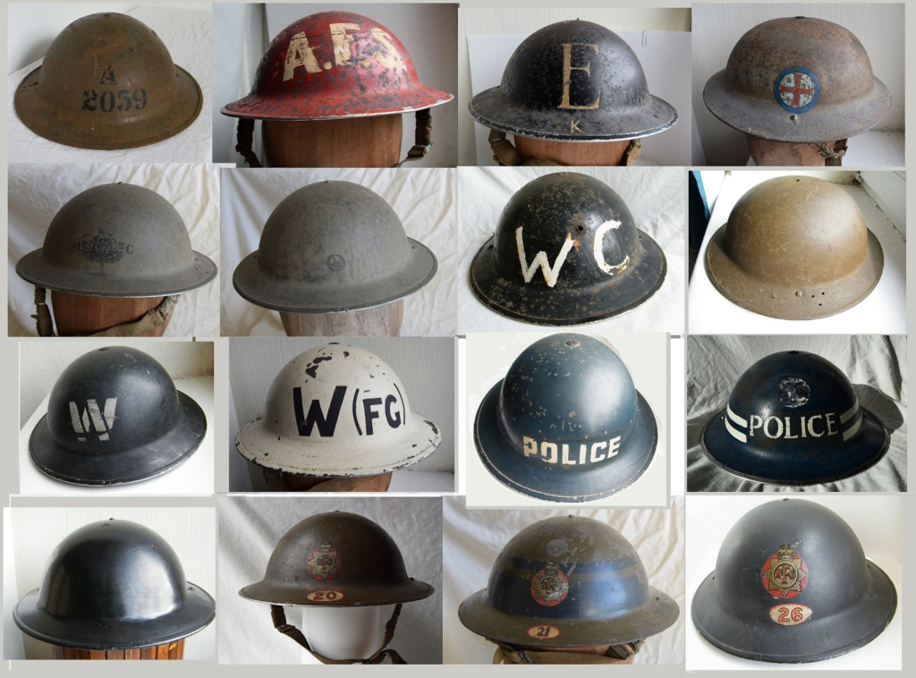 British WW2 Home Front Helmets Home_f10