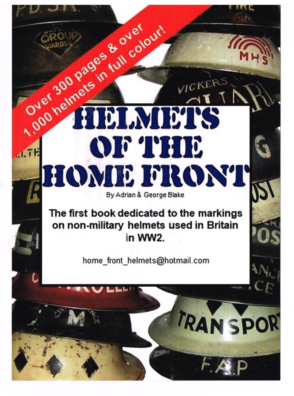 British WW2 Home Front Helmets Home_f11