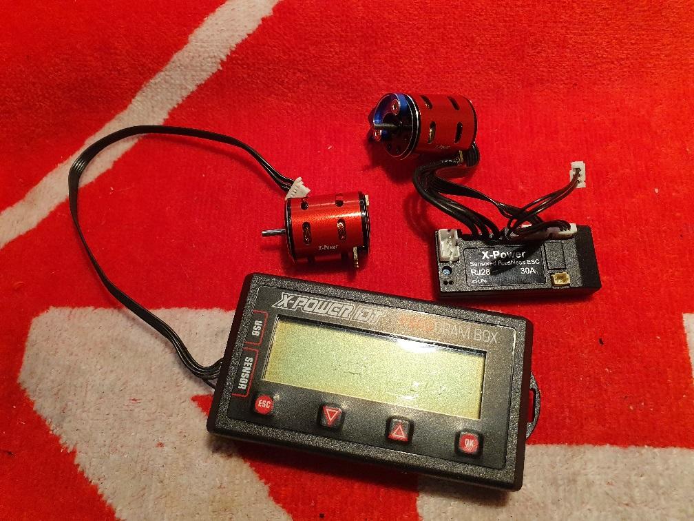 GLA V1 neuve a finir de monter - Combo Xpower sensor 20190421