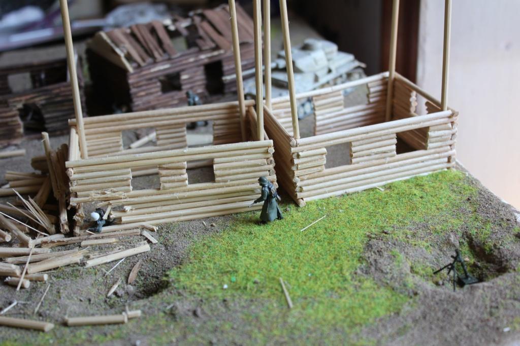 Diorama: Assaut contre un village sur le front de l'Est, hiver 1944-1945 Img_3211