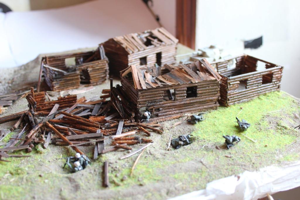 Diorama: Assaut contre un village sur le front de l'Est, hiver 1944-1945 Img_3214