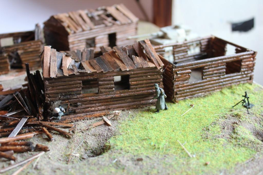 Diorama: Assaut contre un village sur le front de l'Est, hiver 1944-1945 Img_3310