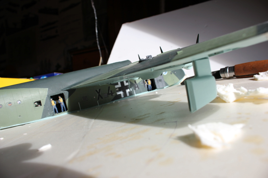 "[revell et scratch intégral] Diorama d'un BV-222 ""Wiking"" et d'un u-boot typ VII C au 1/72 - Page 7 Img_8010"