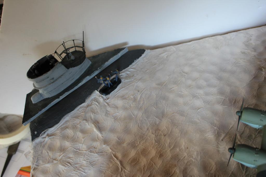 "[revell et scratch intégral] Diorama d'un BV-222 ""Wiking"" et d'un u-boot typ VII C au 1/72 - Page 7 Img_8014"