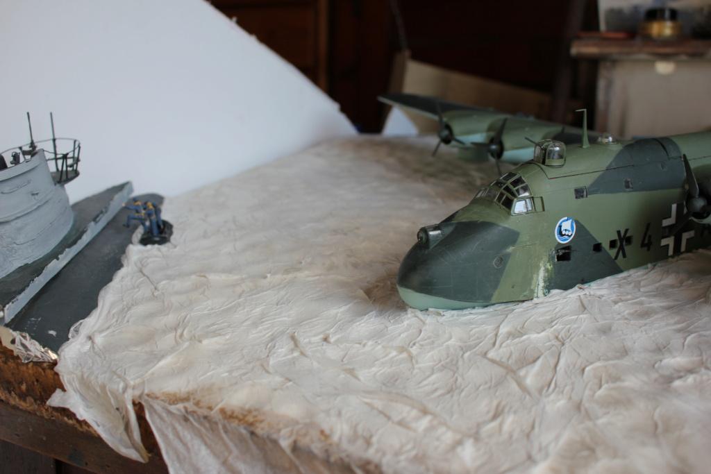 "[revell et scratch intégral] Diorama d'un BV-222 ""Wiking"" et d'un u-boot typ VII C au 1/72 - Page 7 Img_8016"