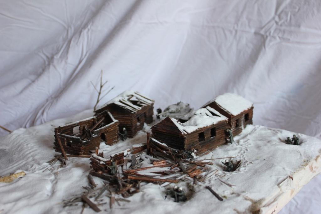 Diorama: Assaut contre un village sur le front de l'Est, hiver 1944-1945 Thumb122