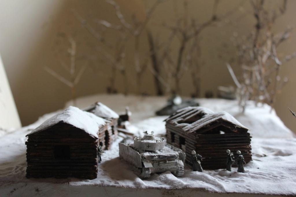 Diorama: Assaut contre un village sur le front de l'Est, hiver 1944-1945 Thumb_35