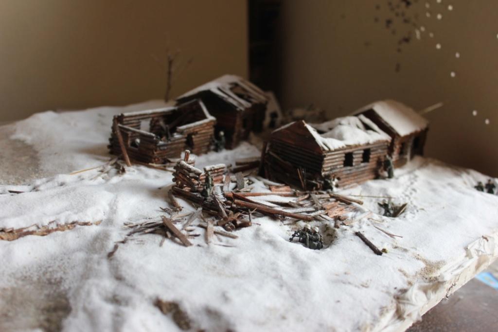 Diorama: Assaut contre un village sur le front de l'Est, hiver 1944-1945 Thumb_51