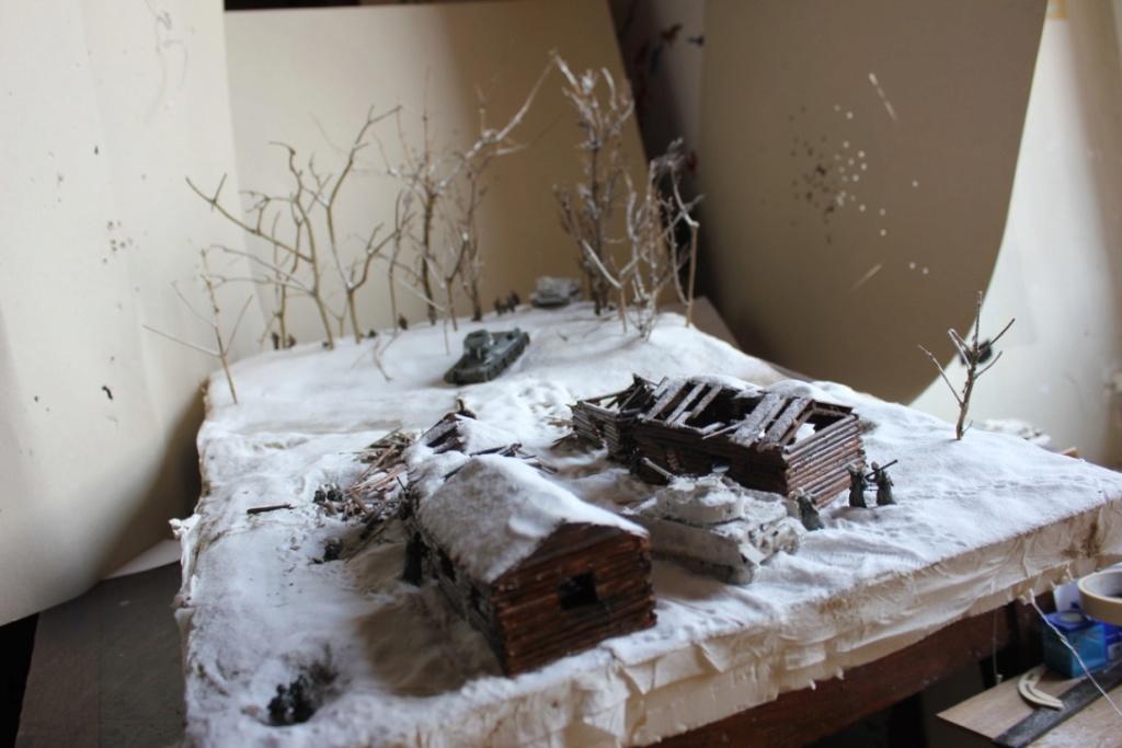 Diorama: Assaut contre un village sur le front de l'Est, hiver 1944-1945 Thumb_59