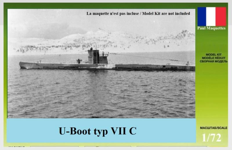 "[revell et scratch intégral] Diorama d'un BV-222 ""Wiking"" et d'un u-boot typ VII C au 1/72 - Page 6 U-boot10"