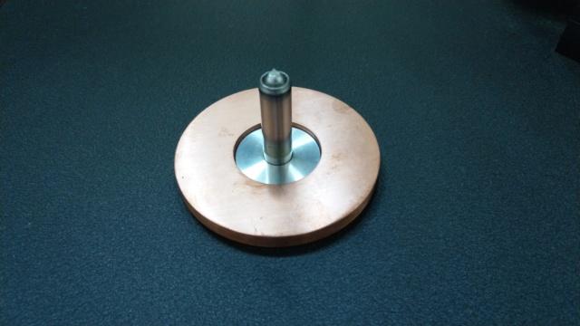 Custom made for VPI Classic TT Platter Shaft Collar Imag1415