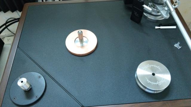 Custom made for VPI Classic TT Platter Shaft Collar Imag1416