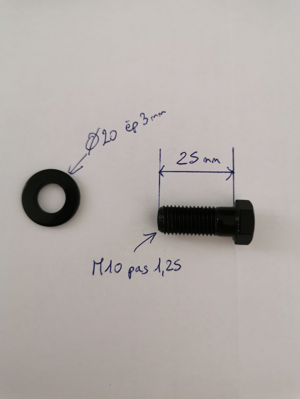 Boulons et rondelles fixation disque de frein Img_2010