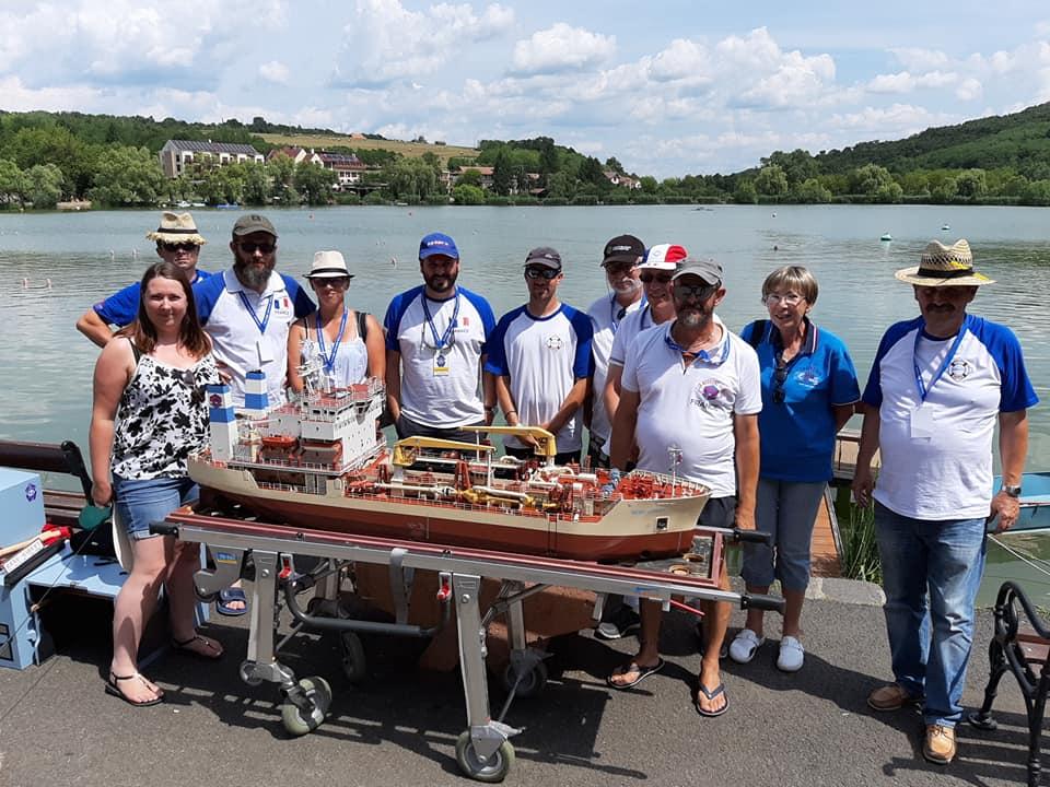 championnats du monde de modélisme naval BANK Hongrie  67336311