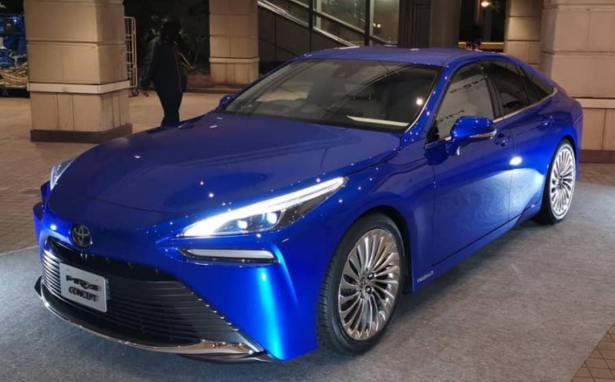 2020 - [Toyota] Mirai II 20191065