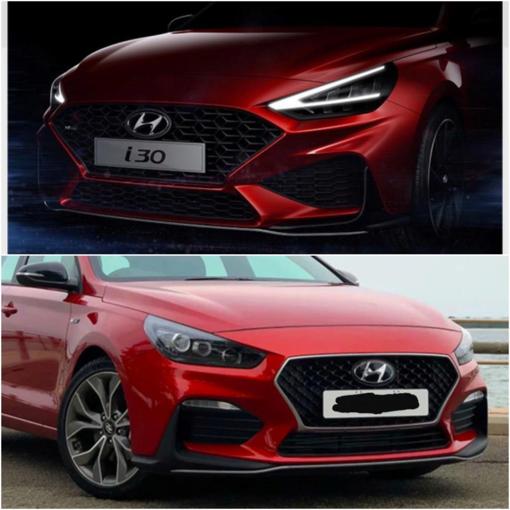 2020 - [Hyundai] I30 III 5p/SW/Fastback Facelift 20200223