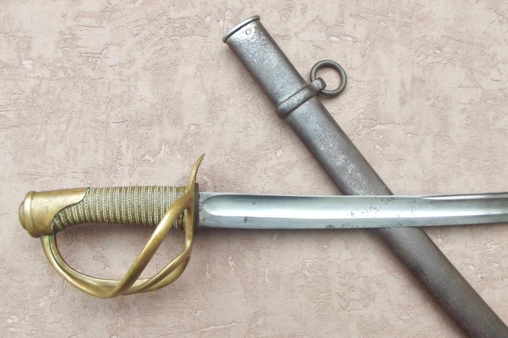 Sabre de Cavalerie légère Mle 1822 10985_10