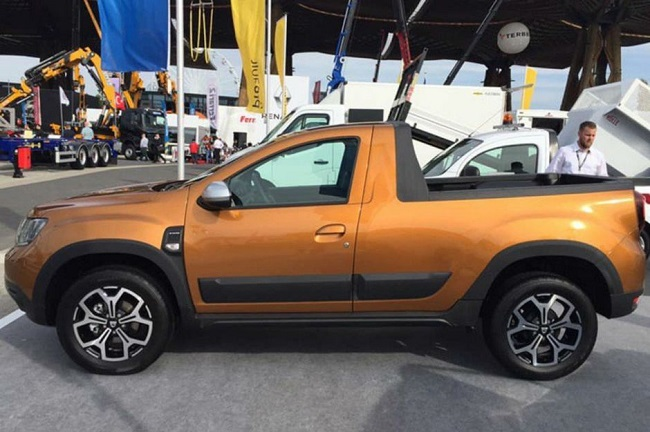 Dacia cartonne, un Duster Pick-Up en préparation ? Dacia-16
