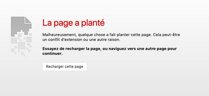 Plantage et message d'erreur Captur88