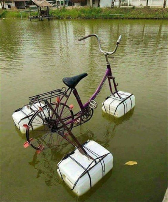vélos et tandems : le moyen idéal pour aller au bassin avec votre bateau 83b67110