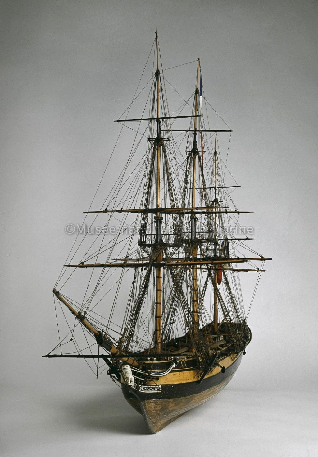 L'Astrolabe 1812 (base Mantua & plan AAMM 1/50°) par kerezou - Page 12 Corvet12