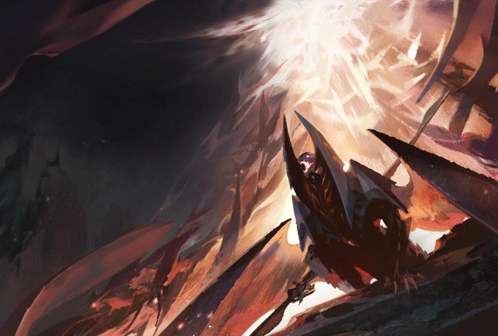 Backgrounds : Les Archipels, La Guerre des Ombres Erebio11
