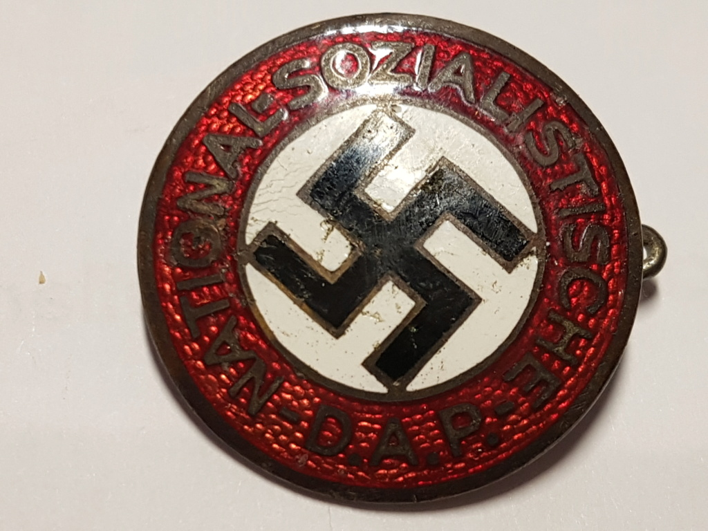 authentification et éstimation badge nsdap 20190222