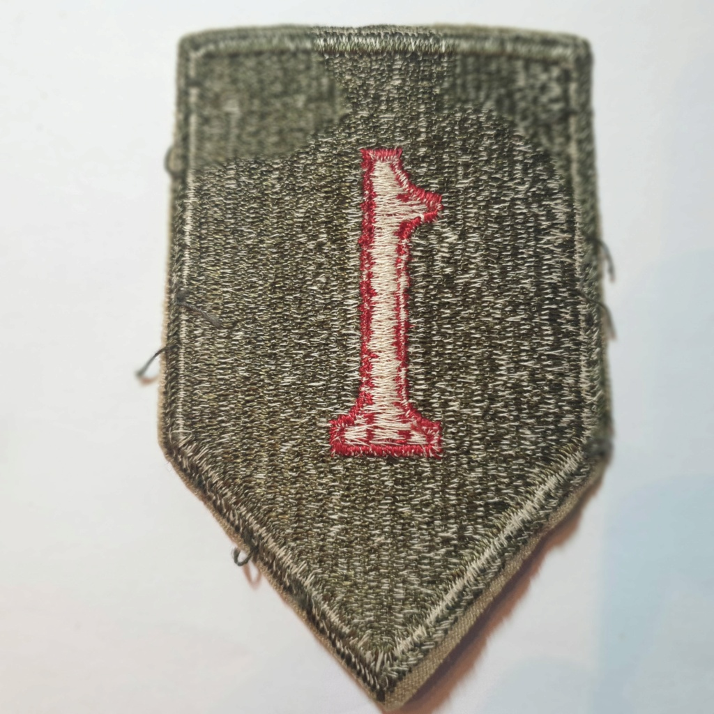 """1st Infantry Division """"Big Red One"""" 20210143"""