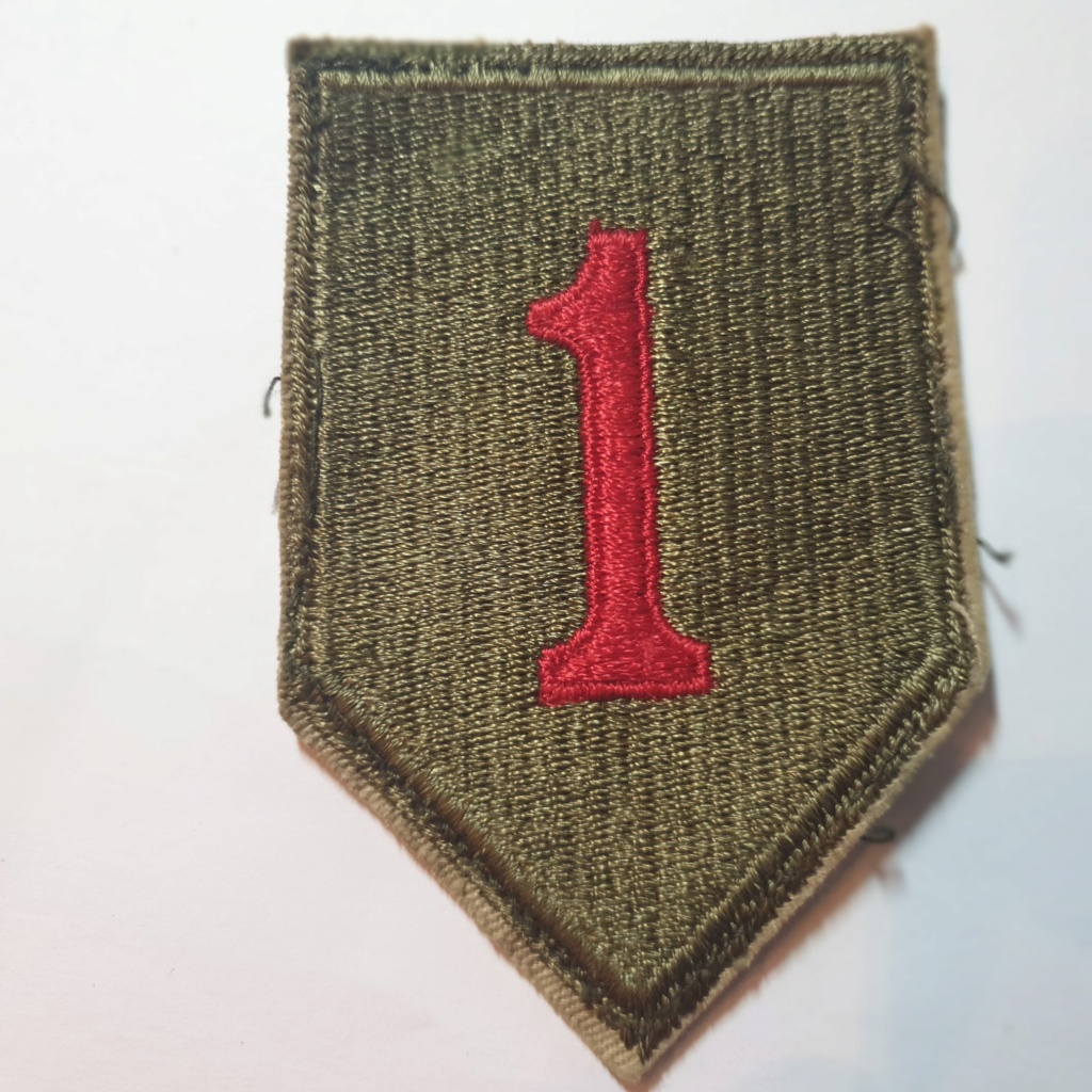 """1st Infantry Division """"Big Red One"""" 20210144"""