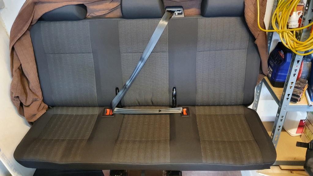 Siège, banquette, tapis arrière, Caravelle T6 Banque10